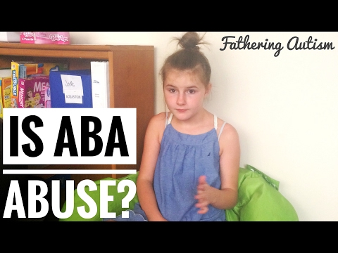 Is ABA Therapy Child Abuse?   Stim Suppression   Am I Wrong?   Fathering Autism Vlog
