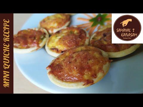 easy-homemade-mini-quiche-recipe-|-😋-|-quiche-recipe-|-samayal-kaivasam