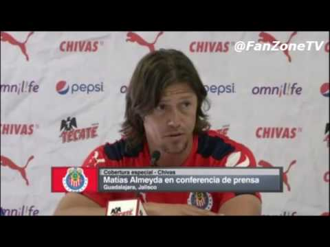 Matias Almeyda dice que Alan Pulido se tendra que ganar un puesto