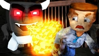 Minecraft | WHO'S YOUR DADDY? Baby Turns Evil and MURDERS DADDY! (Evil Demon Baby)