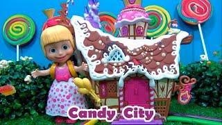 CANDY TOWN - Masha and The Bear IN ENGLISH  Candy City #BEARMASHA #ILOVEMASHA