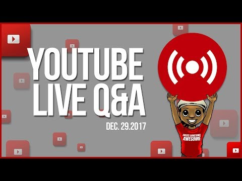 🔴Last YouTube Channel Reviews of 2017 | YouTube LIVE Q&A