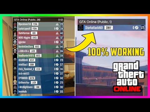 GTA Online - How To Get 100% Working Solo Public Lobby On PS4, Xbox One & PC - Solo Public Sessions!