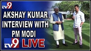 Akshay Kumar's Non-Political Interview With PM Narendra Modi LIVE - TV9