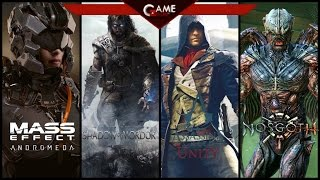 Обзор новинок игр Mass Effect 4, Assassins Creed, Shadow of Mordor, Nosgoth