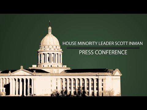 House Minority Leader Scott Inman Press Conference