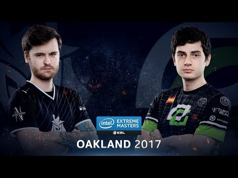 CS:GO - G2 vs. OpTic [Overpass] - Group B Round 5 - IEM Oakland 2017