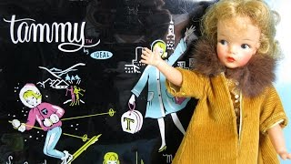 Toby's Grandma reviews Tammy Doll dresses case accessories Ideal Toy 1962