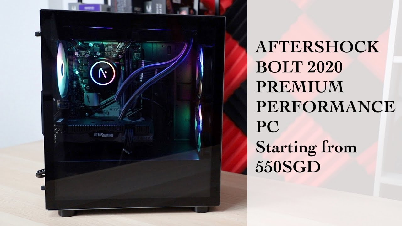Cyberpowerpc Review 2020.Aftershock Bolt 2020 Value Premium Custom Pc
