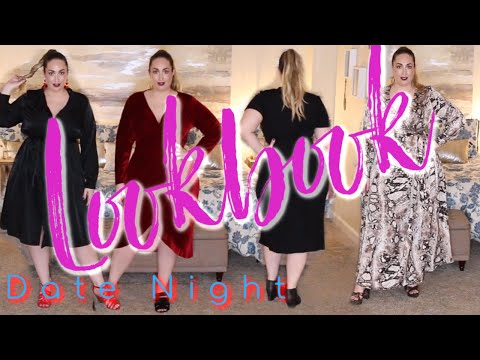 Plus Size Valentine's Day Lookbook   Try On