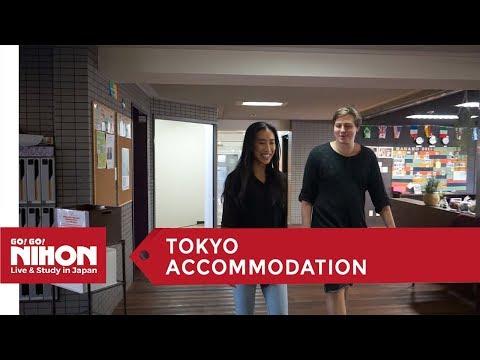 Inside a social residence in Tokyo