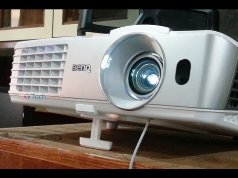 BenQ w1070 Projector Video Review