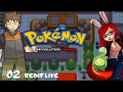 Pokemon Revolution Online   1ière arène et entraînement de pissenlit! - #02