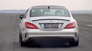 830HP Mercedes-Benz CLS63 AMG 1/2 Mile Accelerations