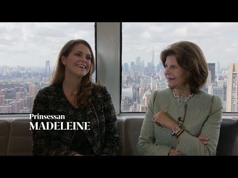 """Prinsessan Madeleine om relationen till drottning Silvia: """"Det är svårt att fylla mammas skor&q"""