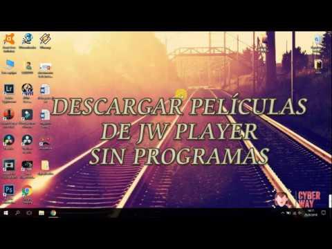Descargar películas de JW PLAYER sin programas