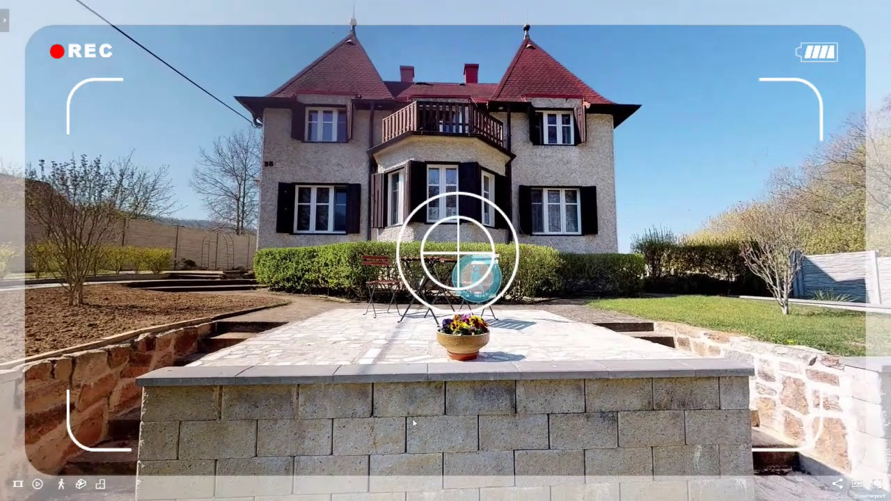 Příprava nemovitosti ke skenování, ukázka virtuální prohlídky