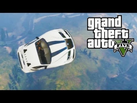 GTA 5 - Moon Gravity Cheat Code & Gameplay! (GTA V)