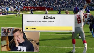 I used Daniel Jones against a Giants fan, and he freaked out \u0026 Quit!