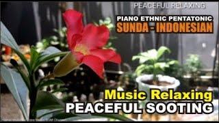 Music Therapy, Yoga, Meditation, Peaceful Sooting Brain, Ethnic Sunda Java, BGM Free No Copyright