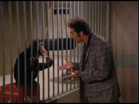 Kramer's incident with Barry (The Monkey)