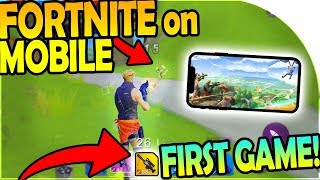 FORTNITE MOBILE CLONE *OUT NOW!* - My FIRST GAME - Fortcraft Battle Royale Gameplay Android / iOS