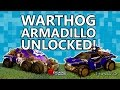 Rocket League Tips: Fast Unlock of Warthog & Armadillo!