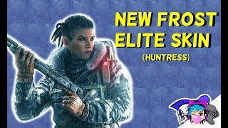 New Frost Elite Skin ( Huntress) | Rainbow Six: Siege (Operation: Grim Sky)