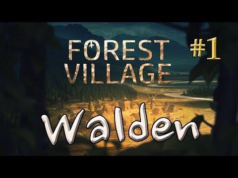 Let's Play Life is Feudal: Forest Village - Walden #1: Ein neuer Anfang (gameplay / deutsch)