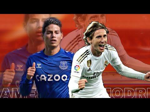 Luka Modric vs James Rodriguez •dusk till down • Midfield Battle