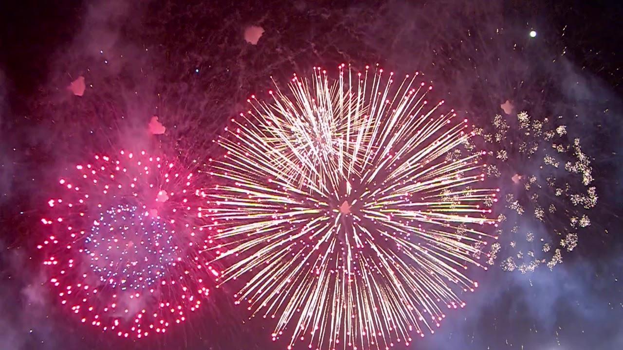 2020臺南土城正統鹿耳門聖母廟高空煙火 / Fireworks show in Tainan (26MIN) - YouTube