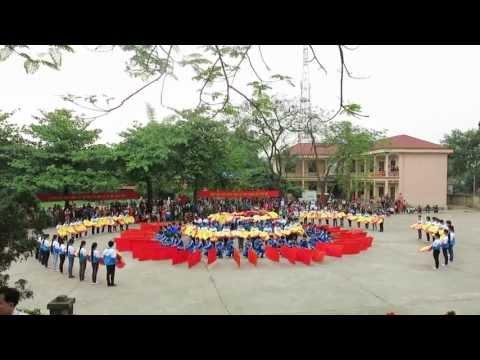 Đồng diễn Đại hội TDTT Thị trấn Giang Tiên lần thứ tư năm 2013