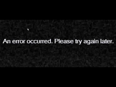 video player error message an error occurred please try again later how to fix youtube. Black Bedroom Furniture Sets. Home Design Ideas