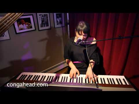 Magda Giannikou performs Amour T'es La for Vivianne Cohen's Birthday party