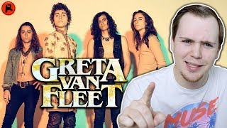 I'VE NEVER HEARD GRETA VAN FLEET (FIRST REACTION)
