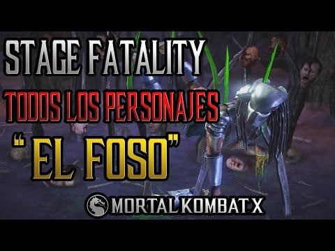 Mortal Kombat XL | Español Latino | Stage Fatality |
