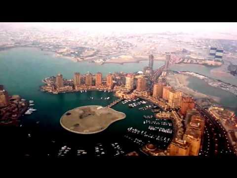 Aerial view of Hamad International Airport(Doha,Qatar)