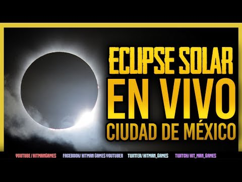 SIGUE EL ECLIPSE SOLAR EN VIVO CIUDAD DE MÉXICO CENTRO