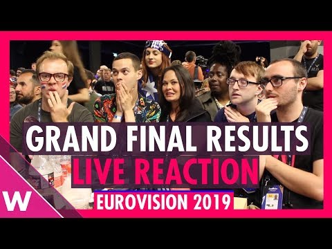 Eurovision 2019: Live reaction to Grand Final Results | wiwibloggs