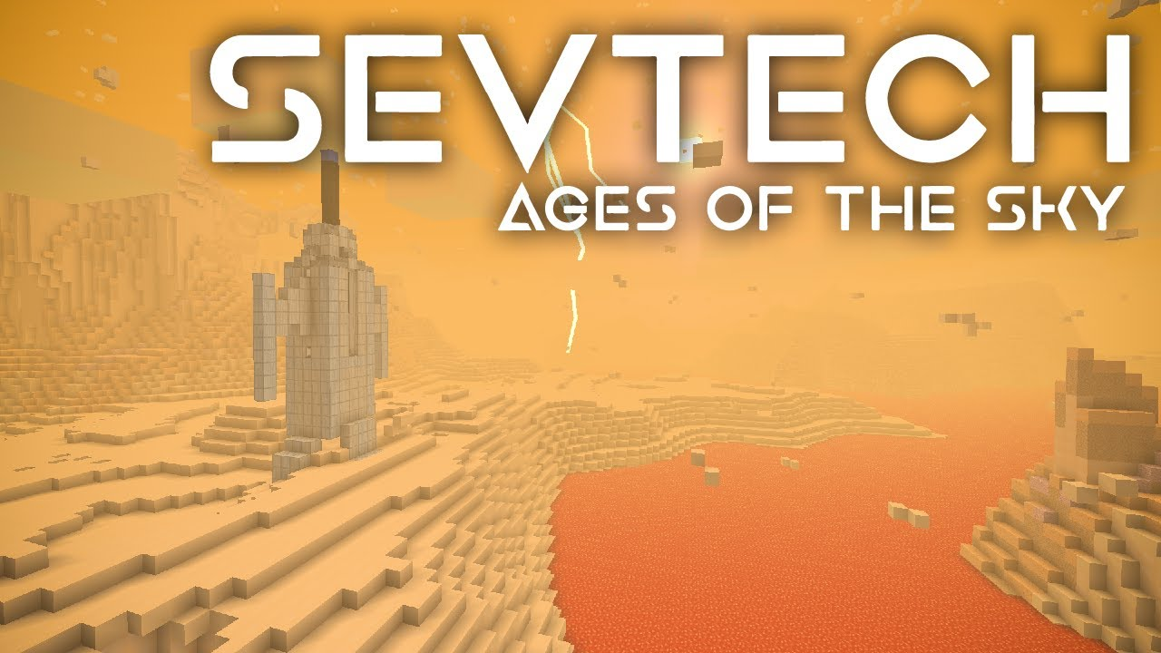 SevTech: Ages of the Sky Ep. 47 Titanium + Tier 4 Jupiter Here We Come