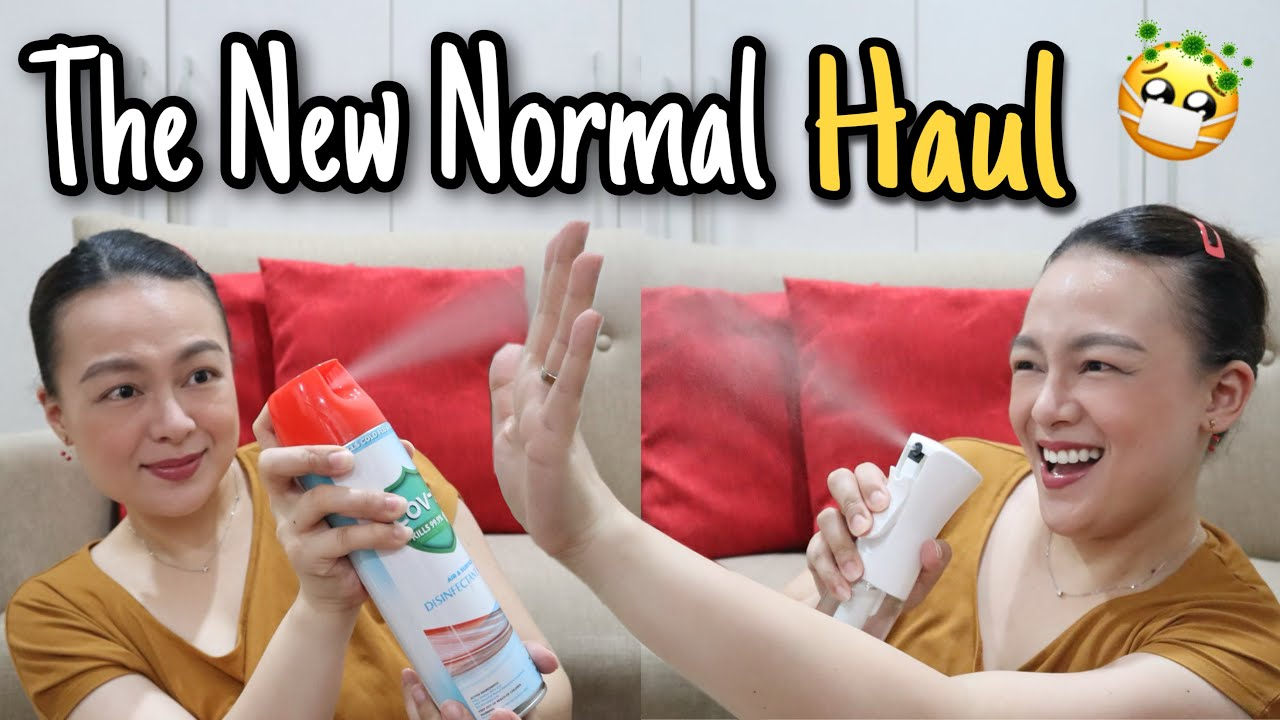 PANDEMIC ESSENTIALS HAUL! | Affordable Alcohol Wipes Disinfectant Spray Vitamins Etc. | Nins Po