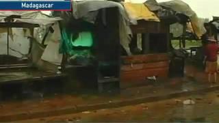 Ciclón categoría 4 azotó las costas orientales de Madagas