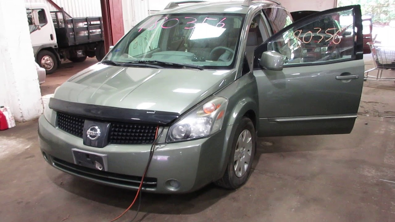 Quest Auto Parts >> Parting Out A 2005 Nissan Quest Parts Car 180356 Tom S Foreign Auto Parts