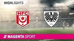 Hallescher FC - Preußen Münster | Spieltag 9, 19/20 | MAGENTA SPORT