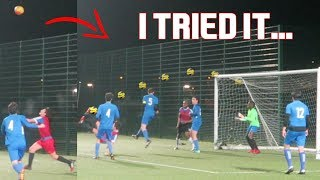 I ATTEMPTED AN OVERHEAD KICK IN A SUNDAY LEAGUE MATCH