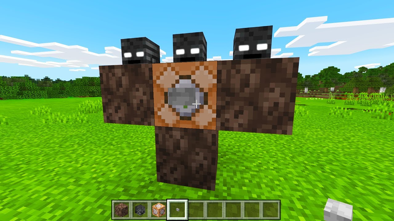How To Spawn the Wither Storm in Minecraft