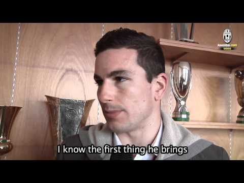 Padoin, la prima intervista in bianconero - Padoin's first interview in black and white