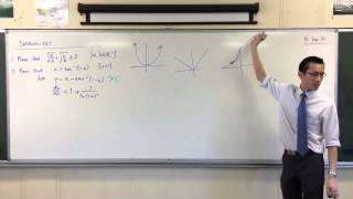Interesting Inequality Proof w/ Inverse Trig (1 of 2: Calculus Proof)