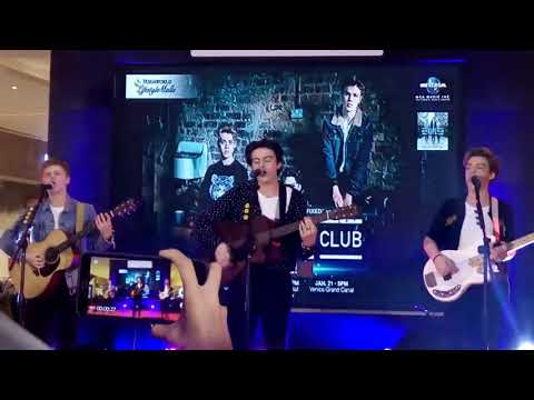 New Hope Club Live in Manila - Water