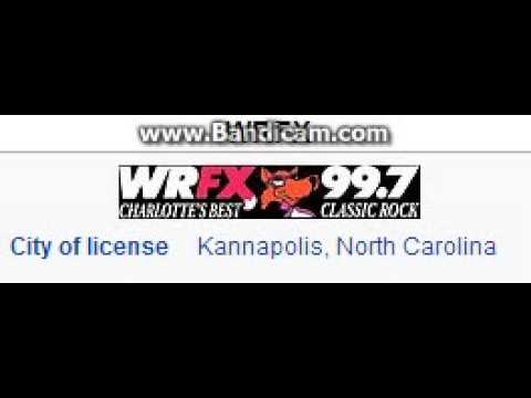 WRFX 99.7 The Fox Kannapolis, NC TOTH ID at 7:00 p.m. 7/20/2014